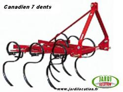 canadien 5 dents